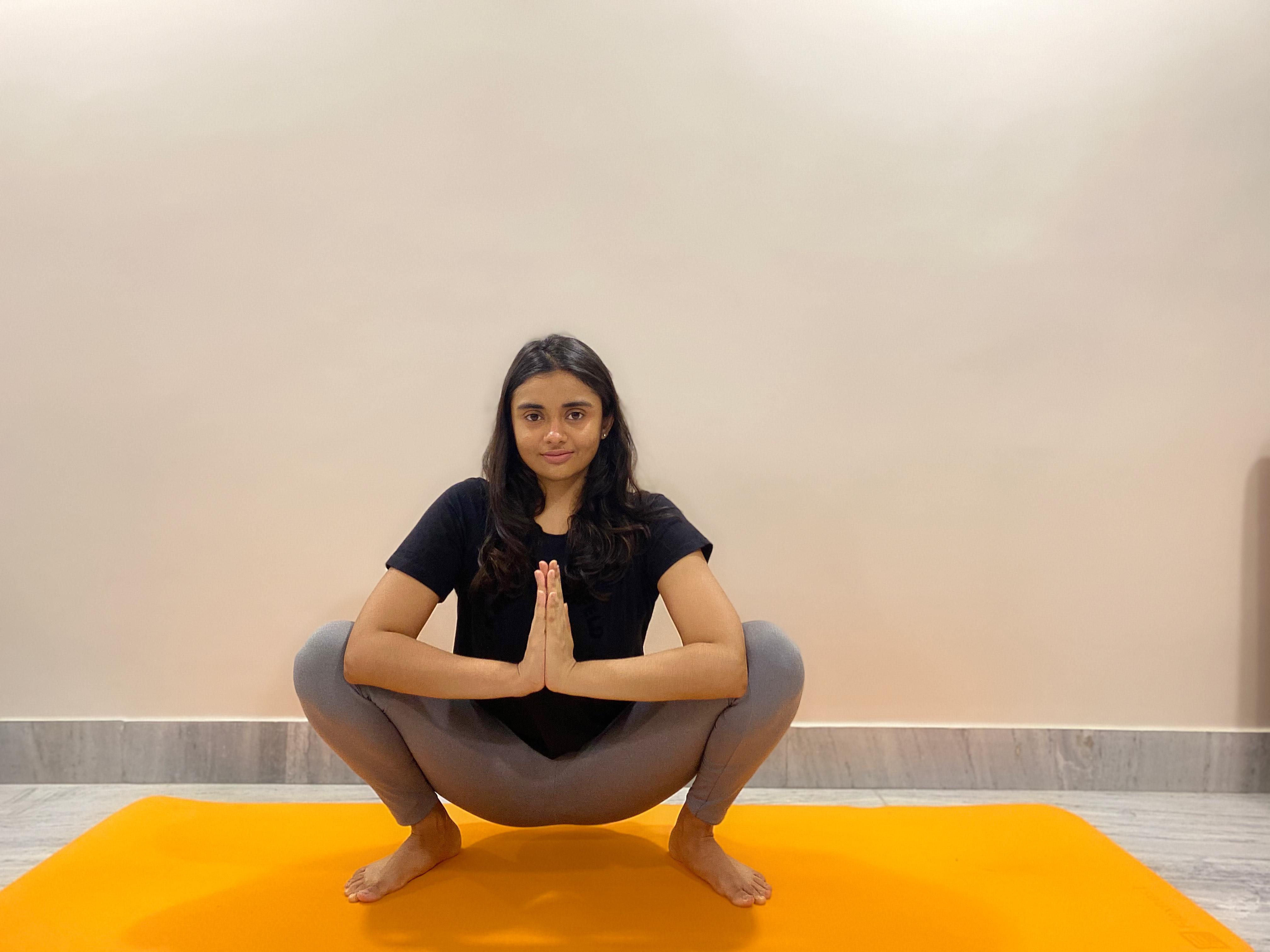 Garland pose (Malasana) for Yoga