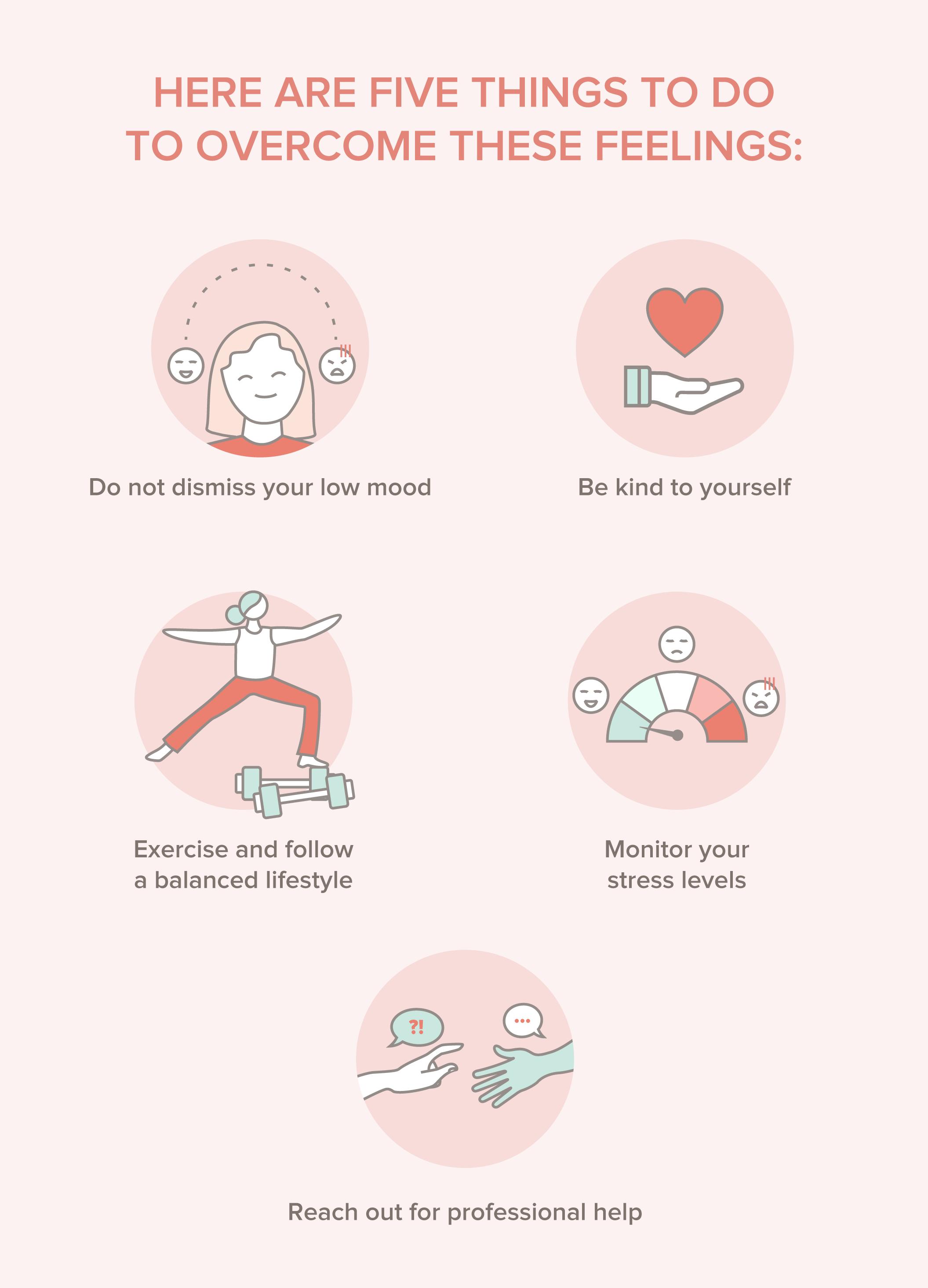 5 Things to Overcome Premenstrual Dysphoric Disorder (PMDD) Feelings