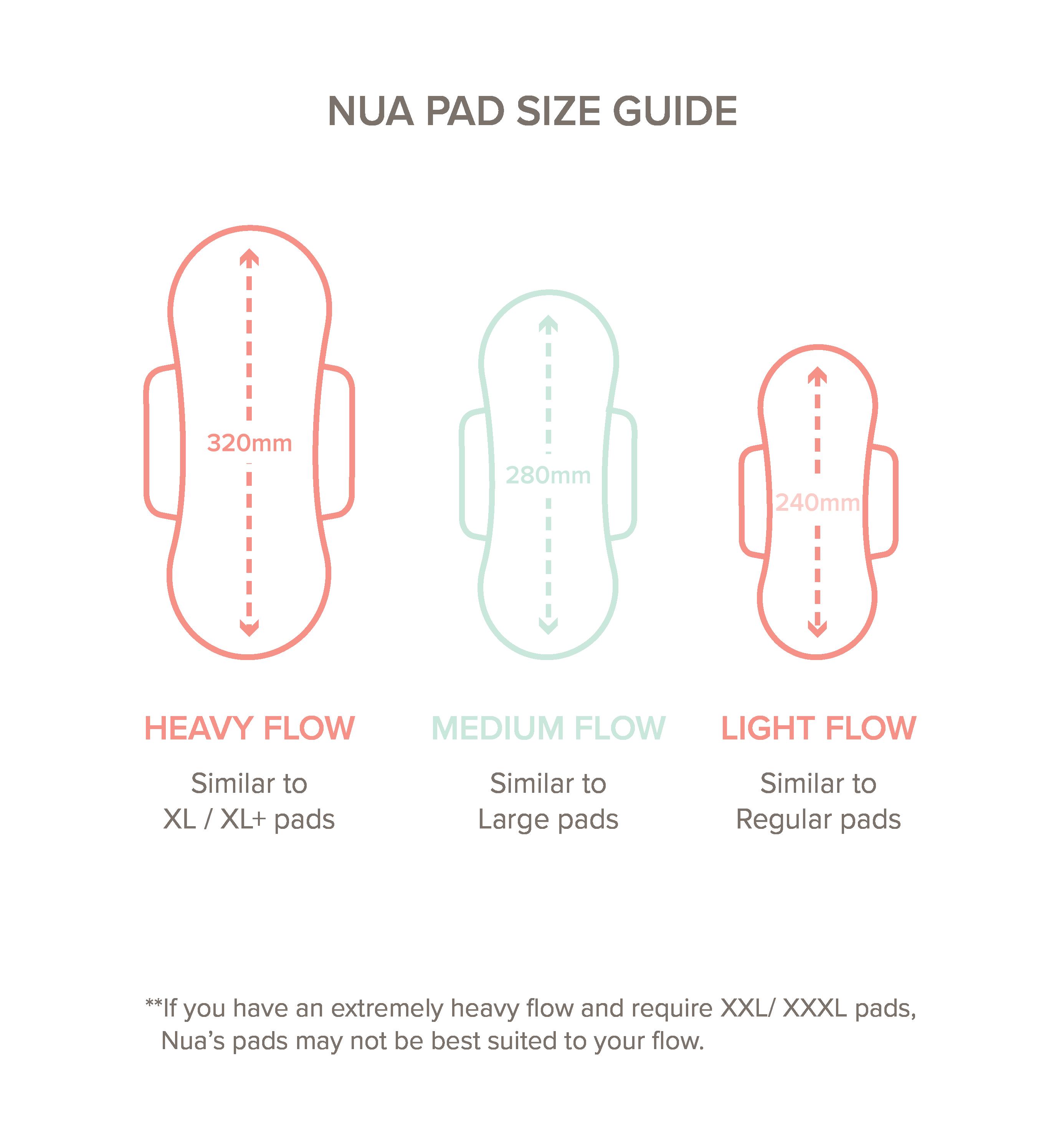 Nua Size Guide